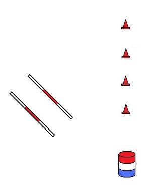 3 step pattern